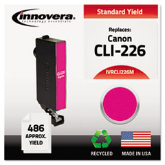 IVRCLI226M - Innovera Remanufactured 4548B001 (CLI-226M) Ink, 486 Page-Yield, Magenta