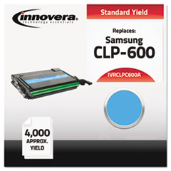 IVRCLPC600A - Innovera Compatible with CLP-C600A Laser Toner, 4000 Yield, Cyan