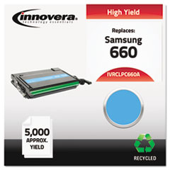 IVRCLPC660A - Innovera Remanufactured CLP-C660A (660) Toner, 5000 Pge-Yld, Cyan