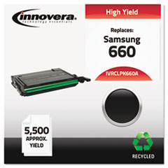 IVRCLPK660A - Innovera Remanufactured CLP-K660A (660) Toner, 5500 Page-Yield, Black