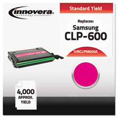 IVRCLPM600A - Innovera Compatible with CLP-M600A Laser Toner, 4000 Yield, Magenta