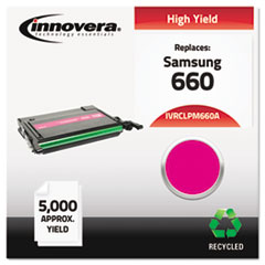 IVRCLPM660A - Innovera Remanufactured CLP-M660A (660) Toner, 5000 Page-Yield, Magenta