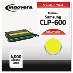 IVRCLPY600A - Innovera Compatible with CLP-Y600A Laser Toner, 4000 Yield, Yellow
