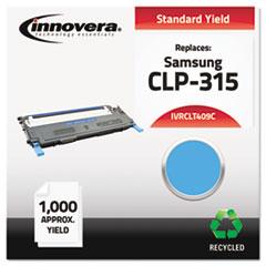 IVRCLT409C - Innovera Remanufactured CLT-C409S Laser Toner, 1000 Yield, Cyan