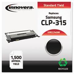 IVRCLT409K - Innovera Remanufactured CLT-K409S Laser Toner, 1500 Yield, Black