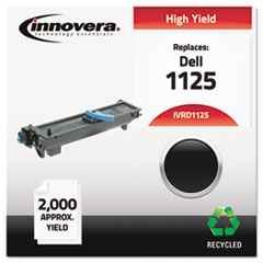 IVRD1125 - Innovera Remanufactured High-Yield 310-9319 (1125) Toner, 2000 Page-Yield, Black