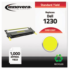 IVRD1230Y - Innovera Remanufactured 330-3013 (1230c) Toner, 1000 Yield, Yellow