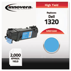 IVRD1320C - Innovera Compatible with 310-9060 (1320) Toner, 2000 Yield, Cyan