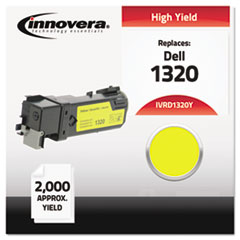 IVRD1320Y - Innovera Compatible with 310-9062 (1320) Toner, 2000 Yield, Yellow