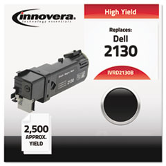 IVRD2130B - Innovera Compatible with 330-1436 (2130cn) Toner, 2500 Yield, Black