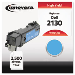IVRD2130C - Innovera Compatible with 330-1437 (2130cn) Toner, 2500 Yield, Cyan