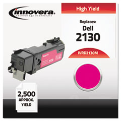 IVRD2130M - Innovera Compatible with 330-1433 (2130cn) Toner, 2500 Yield, Magenta