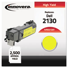 IVRD2130Y - Innovera Compatible with 330-1438 (2130cn) Toner, 2500 Yield, Yellow