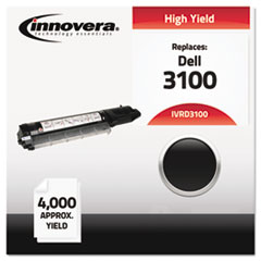 IVRD3100 - Innovera Compatible with 310-5726 (3100) Toner, 4000 Yield, Black
