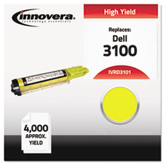 IVRD3101 - Innovera Compatible with 310-5729 (3100) Toner, 4000 Yield, Yellow