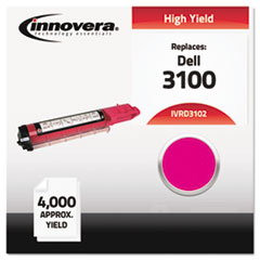 IVRD3102 - Innovera Compatible with 310-5730 (3100) Toner, 4000 Yield, Magenta