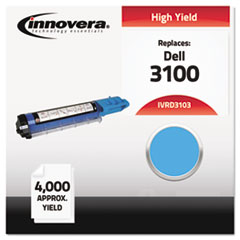 IVRD3103 - Innovera Compatible with 310-5731 (3100) Toner, 4000 Yield, Cyan