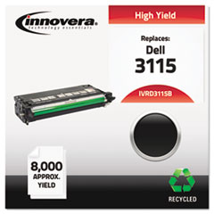 IVRD3115B - Innovera Remanufactured 310-8395 (3115) Toner, 8000 Yield, Black