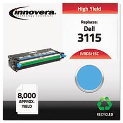 IVRD3115C - Innovera Remanufactured 310-8379 (3115) Toner, 8000 Yield, Cyan