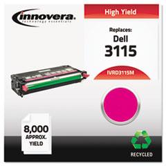 IVRD3115M - Innovera Remanufactured 310-8399 (3115) Toner, 8000 Yield, Magenta