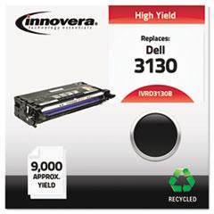 IVRD3130B - Innovera Remanufactured 330-1198 (3130) Toner, 9000 Yield, Black