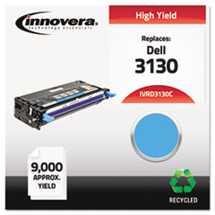 IVRD3130C - Innovera Remanufactured 330-1199 (3130) Toner, 9000 Yield, Cyan