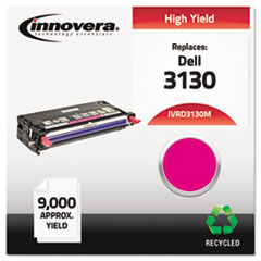 IVRD3130M - Innovera Remanufactured 330-1200 (3130) Toner, 9000 Yield, Magenta