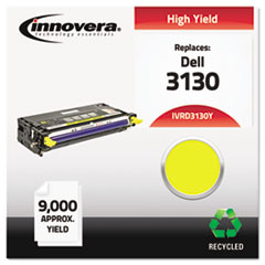 IVRD3130Y - Innovera Remanufactured 330-1204 (3130) Toner, 9000 Yield, Yellow