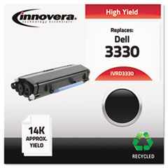 IVRD3330 - Innovera Remanufactured 330-5207 (3330) Toner, 14000 Page-Yield, Black