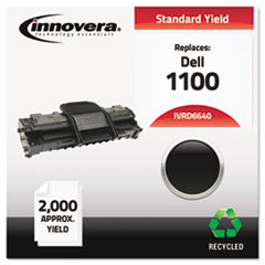 IVRD6640 - Innovera Remanufactured 310-6640 (1100) Toner, 2000 Yield, Black
