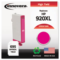 IVRD973ANC - Innovera Remanufactured CD973AN (920XL) Ink, 700 Page-Yield, Magenta