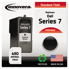 IVRDH828 - Innovera Remanufactured CH883 (Series 7) Ink, 490 Yield, Black