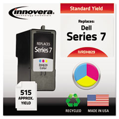 IVRDH829 - Innovera Remanufactured CH884 (Series 7) Ink, 515 Yield, Tri-Color