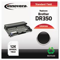 IVRDR350 - Innovera Remanufactured DR350 Drum, 12000 Page-Yield, Black