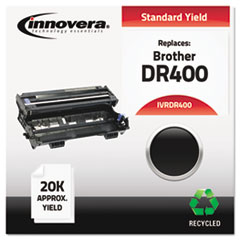 IVRDR400 - Innovera Remanufactured DR400 Drum Cartridge, 20000 Page-Yield, Black