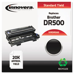 IVRDR500 - Innovera Remanufactured DR500 Drum Cartridge, 20000 Page-Yield, Black