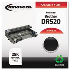IVRDR520 - Remanufactured DR520 Drum Unit, 25000 Page-Yield, Black