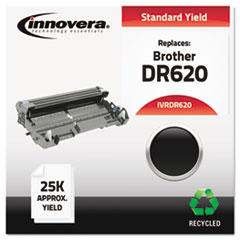 IVRDR620 - Innovera Remanufactured DR620 Drum, 25000 Page-Yield, Black