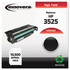IVRE250X - Innovera Remanufactured CE250X (504X) Laser Toner, 10500 Yield, Black