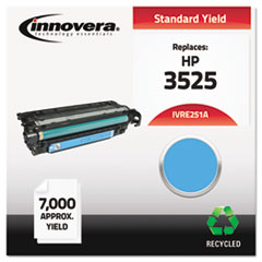 IVRE251A - Innovera Remanufactured CE251A (504A) Laser Toner, 7000 Yield, Cyan