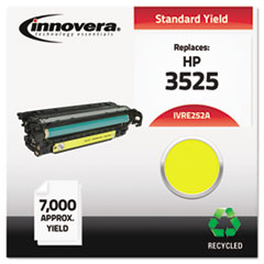 IVRE252A - Innovera Remanufactured CE252A (504A) Laser Toner, 7000 Yield, Yellow