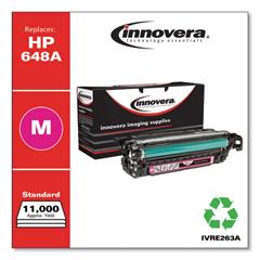 IVRE263A - Innovera Remanufactured CE263A (648A) Laser Toner, 11000 Yld, Magenta