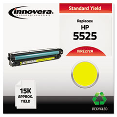 IVRE272A - Innovera Remanufactured CE272A (5525) Toner, 15000 Page-Yield, Yellow