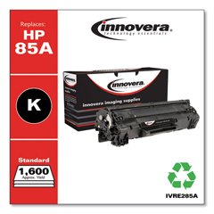 IVRE285A - Innovera Remanufactured CE285A (85A) Laser Toner, 1600 Yield, Black