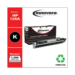 IVRE310A - Innovera E310A Compatible, Remanufactured, 126A (CE310A) Toner, 1200 Page-Yield, Black