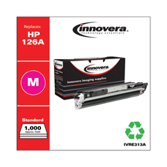 IVRE313A - Innovera E313A Compatible, Remanufactured 126A (CE313A) Toner, 1000 Page-Yield, Magenta