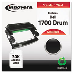 IVRE330DR - Innovera Remanufactured 310-5404 (E330) Toner, 30000 Page-Yield, Black