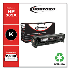 IVRE410A - Innovera Remanufactured CE410A (305A) Toner, 2200 Page-Yield, Black