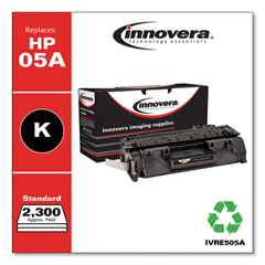 IVRE505A - Innovera Remanufactured CE505A (05A) Laser Toner, 2300 Yield, Black