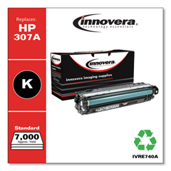 IVRE740A - Innovera Remanufactured CE740A (5525) Toner, 7000 Page-Yield, Black
